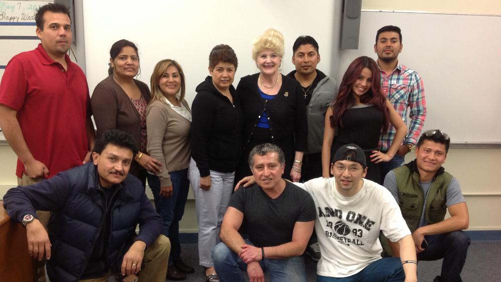 2014 ESL Advanced class