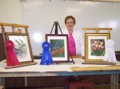 Elsie Pollastrini - 1st, 2nd  & 3rd Place winner at 2012 SM County Fair