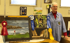 1st Place at 2016 SSF Cultural Art Comm. Art Show; 1st Place at 2016 San Mateo  Couty Fair; 2nd Place at SSF Cultural Art Show; 3rd Place at SSF Cultural Art  Show