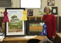 Diane You - 1st & 2nd Place at 2016 San Mateo County Fair ; 3rd Place at 2016  SSF Culutural Art Comm. Art Show